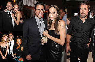 Photos of Brad Pitt, Angelina Jolie, Diane Kruger, Eli Roth, and BJ Novak at the LA Afterparty For Inglourious Basterds