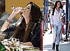 Photos of Mischa Barton Drinking Champagne on the Beautiful Life