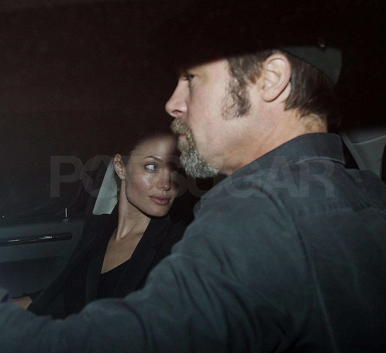Photos of Brad Pitt and Angelina Jolie in LA