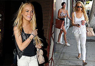 Photos of Lindsay Lohan, Ali Lohan Shopping in LA