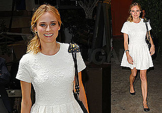 Photos of Diane Kruger at Live with Regis and Kelly, PopSugar Interview Quotes