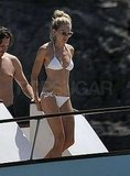 Photos of Sienna Miller in a Bikini in Ibiza