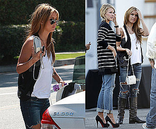 Photos of Audrina Patridge and Lo Bosworth Filming The Hills in LA