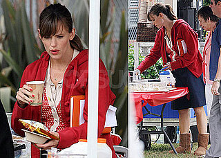 Photos of Jennifer Garner on The LA Set of Valentine's Day
