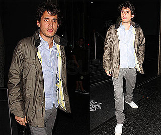 Photos of John Mayer Leaving LA's Katsuya