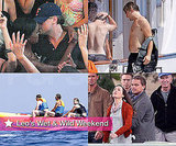 Photos of Leonardo DiCaprio Dancing Close with Models, Filming Inception with Ellen Page, Marion Cotillard in France