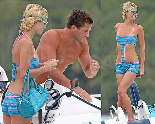 Bikini Photos of Paris Hilton Back Together With Shirtless Doug Reinhardt in Bora Bora