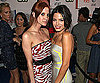 Photo Slide of Ashlee Simpson And Jenna Dewan Celebrating Melrose Place in LA