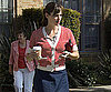 Photo Slide of Jennifer Garner on The LA Set of Valentine's Day