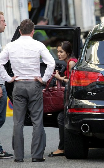 Photos of Freida Pinto and Josh Brolin in London