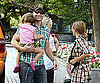 Photo Slide of Peter Facinelli With His Daughters in Vancouver