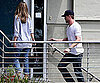 Photo Slide of Eric Dane And Rebecca Gayheart Arriving Home in LA