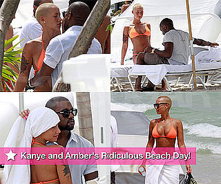 Photos of Kanye West and Bikini-Clad Model Girlfriend in Miami
