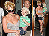 Photos of Britney Spears, Sean Preston Spears Federline, Jayden James Spears Federline in NYC