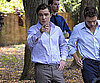 Photo Slide of Ed Westwick on The Set of Gossip Girl in Brooklyn
