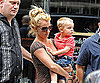 Photo Slide of Britney Spears and Jayden James in NYC