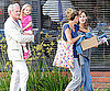 Photo Slide of Jennifer Garner And Violet With Victor Garber