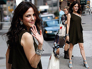 Photos and Video of Mary-Louise Parker on The Late Show