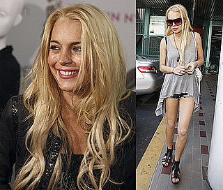 Photos of Lindsay Lohan at 6126 Pop Up Shop and In LA After Twittering About DJ AM's Death