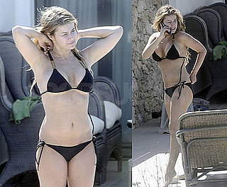 Carmen Electra Bikini Photos In Greece With Fiance Robert Patterson