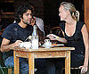 Photo Slide of Adrian Grenier at Lunch in NYC