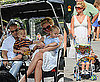 Britney, Sean and Jayden Take a Walk in the Park