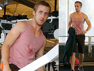 Ryan Gosling Confidently Hits the Gym in Pink