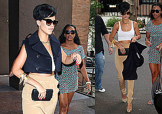 Photos of Rihanna Out in NYC the Day Chris Brown Is Sentenced