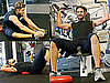 Photos of Bradley Cooper at the Gym