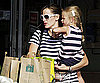 Photo Slide of Jennifer Garner and Violet Affleck Shopping in Boston