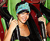 Photo Slide of Rihanna Riding the Rollercoasters at Six Flags Magic Mountain in LA