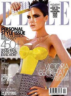 Victoria Beckham October 2009 Elle Magazine Cover
