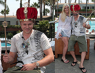 Photos of Heidi Montag and Spencer Pratt in a Crown After Naming Himself King