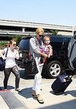 Photos of Jessica Alba and Honor at LAX