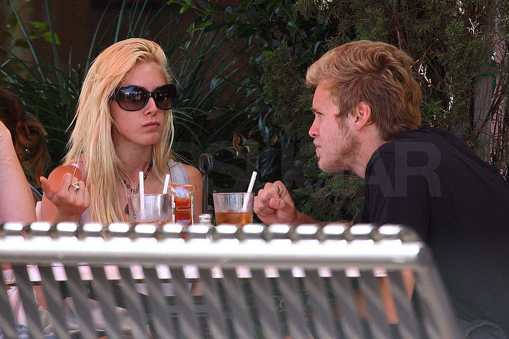 Photos of Heidi and Spencer at Lunch in LA