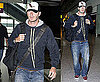 Photos of David Beckham at the Airport