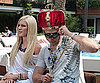 Photo Slide of Spencer Pratt Wearing a Crown With Heidi Montag