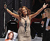 Photo Slide of Whitney Houston Performing on GMA