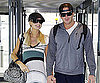 Slide Photo of Paris Hilton and Doug Reinhardt at Heathrow