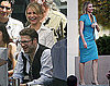Photos of Cameron Diaz on the set of The Green Hornet