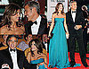 Photos of George Clooney and Elisabetta Canalis at Venice Film Festival Premiere of Men Who Stare at Goats