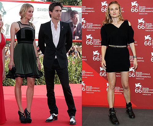 Photos of Jared Leto and Diane Kruger Promoting Mr. Nobody at the 2009 Venice Film Festival