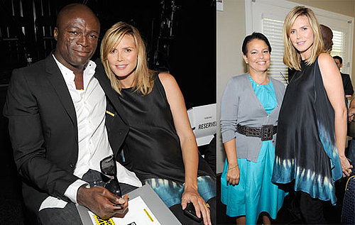 Photos of Pregnant Heidi Klum With Seal At Get Schooled Event in LA With Bill and Melinda Gates 2009-09-09 07:00:00