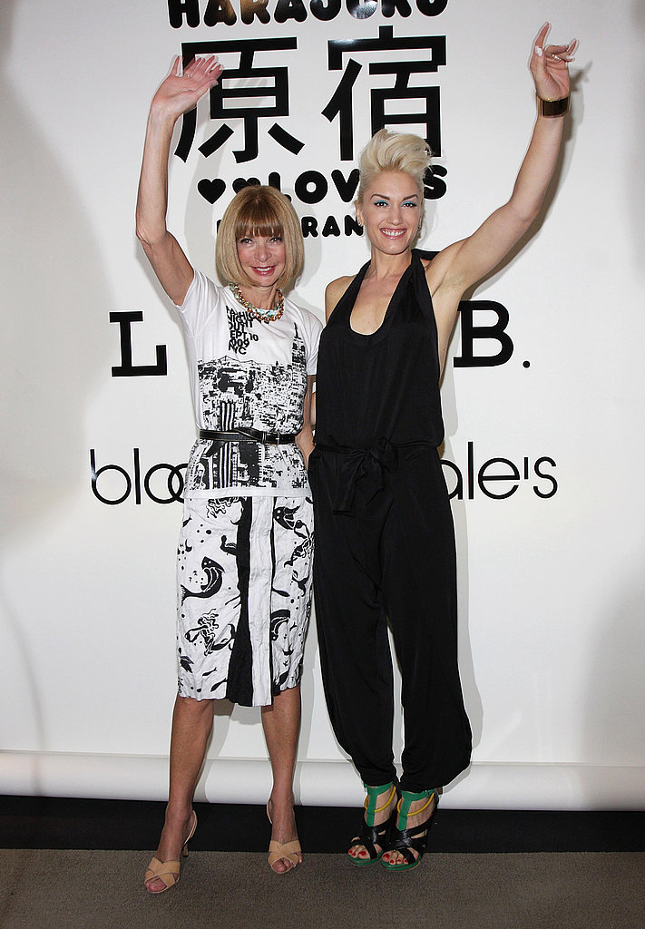 Photos of Gwen Stefani and Anna Wintour