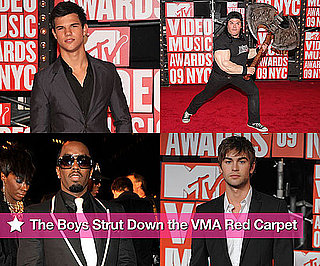 Photos of the Men on the Red Carpet at the 2009 MTV Video Music Awards