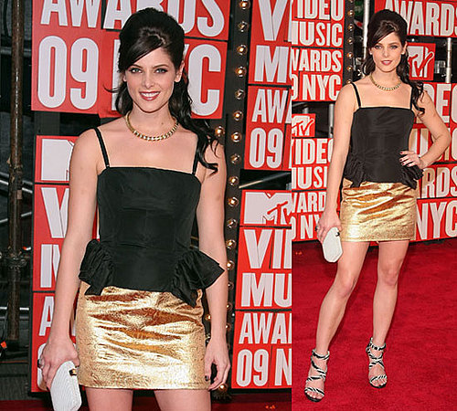 Photos of Ashley Green at 2009 MTV VMAs