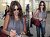 Photos of Penelope Cruz at the Toronto Airport