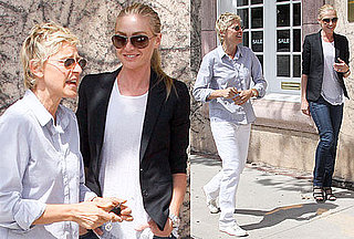 Photos of Ellen DeGeneres and Portia de Rossi Together in LA