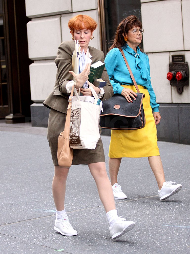 Photos of Sarah Jessica Parker and Cynthia Nixon in NYC
