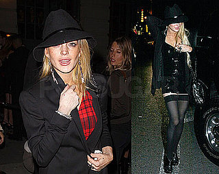 Photos of Lindsay Lohan Clubbing in NYC